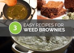 3 Easy Recipes for Weed Brownies